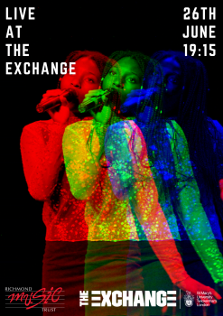 Live at Exchange poster